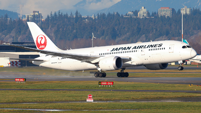 JA844J - Boeing 787-8 Dreamliner - Japan Airlines (JAL)