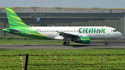 PK-GLV - Airbus A320-214 - Citilink