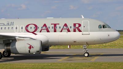 A7-AAG - Airbus A320-232 - Qatar - Amiri Flight