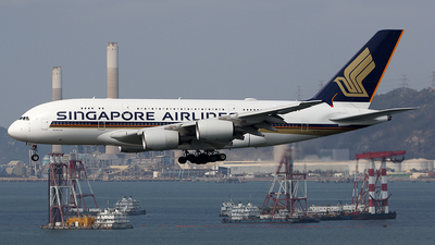 9V-SKU - Airbus A380-841 - Singapore Airlines - Flightradar24
