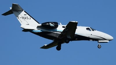 F-HASJ - Cessna 510 Citation Mustang - Private