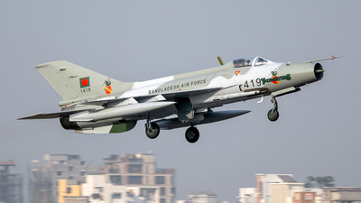 1419 - Chengdu F-7MB - Bangladesh - Air Force