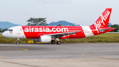 A picture of 9MAQS - Airbus A320216 - AirAsia - © JC28