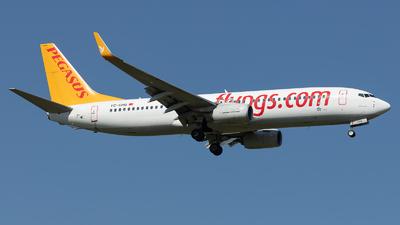TC-CRG - Boeing 737-82R - Pegasus Airlines