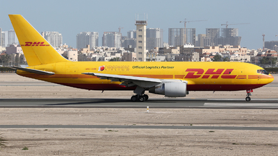 A picture of A9CDHM - Boeing 767281(BDSF) - DHL - © Dave Jefferys