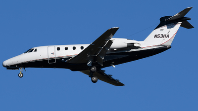 N53HA - Cessna 650 Citation VII - Private