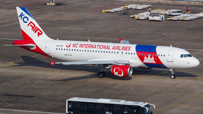 XU-127 - Airbus A320-214 - KC International Airlines