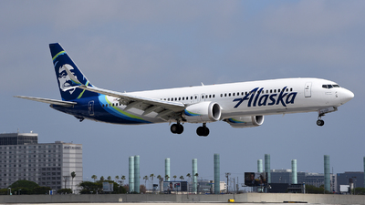 A picture of N918AK - Boeing 737 MAX 9 - Alaska Airlines - © Rocky Wang