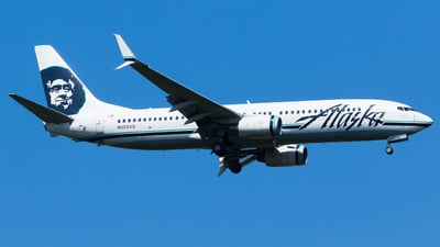 N528AS - Boeing 737-890 - Alaska Airlines