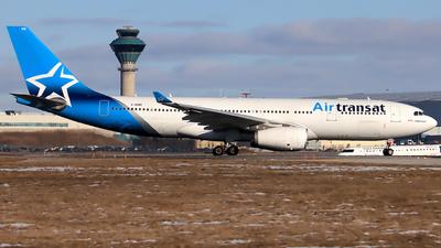 C-GUBC - Airbus A330-243 - Air Transat