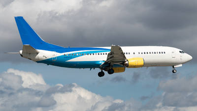 N802TJ - Boeing 737-4B7 - iAero Airways (Swift Air)