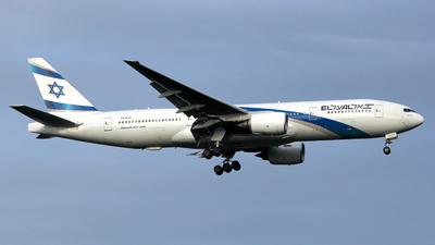 4X-ECC - Boeing 777-258(ER) - El Al Israel Airlines