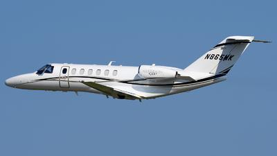 N865MK - Cessna 525B CitationJet 3+ - Private