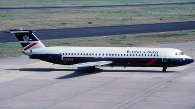 G-BGKE - British Aircraft Corporation BAC 1-11 Series 539GL - British Airways