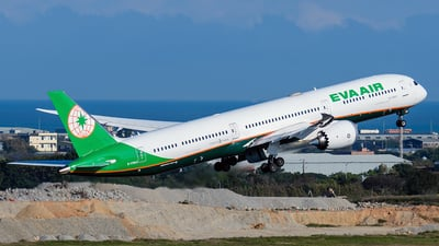 A picture of B17803 - Boeing 78710 Dreamliner - EVA Air - © ECHO