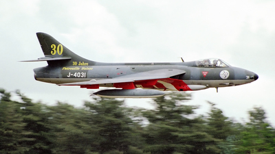 G-BWFR - Hawker Hunter F.58 - Private