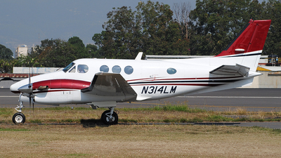N314LM - Beechcraft C90A King Air - Private