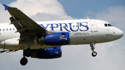 5B-DCN - Airbus A319-132 - Cyprus Airways