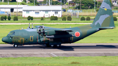 75-1078 - Lockheed C-130H Hercules - Japan - Air Self Defence Force (JASDF)