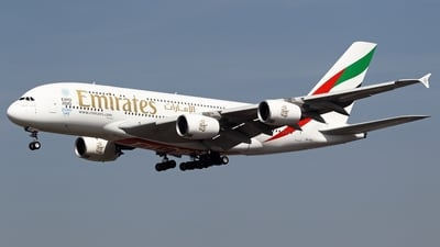 A6-EET - Airbus A380-861 - Emirates