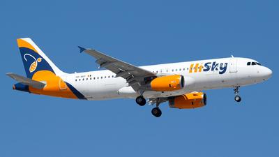 YR-SKY - Airbus A320-232 - HiSky