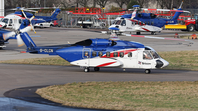 A picture of GCLCN - Sikorsky S92A Helibus - Bristow Helicopters - © R.Rimestad