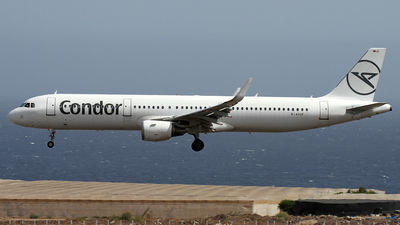 A picture of DATCF - Airbus A321211 - Condor - © Alfonso Solis