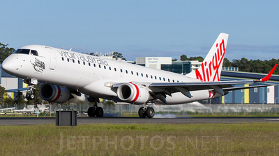VH-ZPG - Embraer 190-100IGW - Virgin Blue Airlines