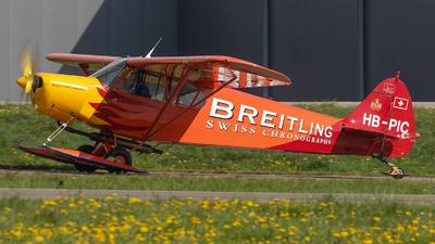 HB-PIC - Piper PA-18-180M Super Cub - Private