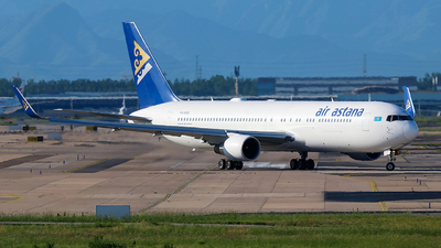 A picture of P4KEB - Boeing 7673KY(ER) - Air Astana - © Memory of the Winter