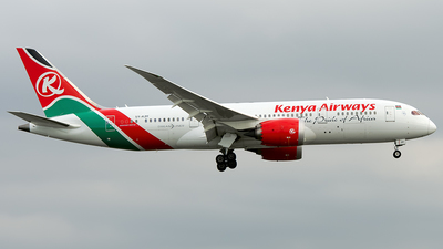 5Y-KZF - Boeing 787-8 Dreamliner - Kenya Airways