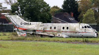 G-OHEA - Hawker Siddeley HS-125-3B - Private