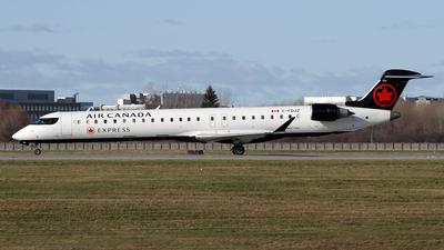 A picture of CFDJZ - Mitsubishi CRJ900LR - Air Canada - © Daniel Lapierre Forget