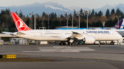 A picture of TCLLP - Boeing 7879 Dreamliner - Turkish Airlines - © SpotterPowwwiii