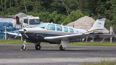 PT-WYW - Beechcraft B36TC Bonanza - Private