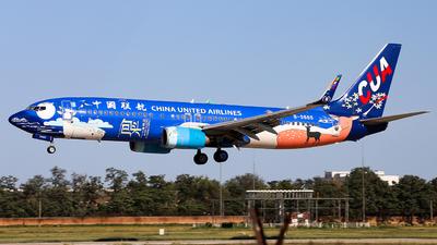 B-5665 - Boeing 737-8HX - China United Airlines