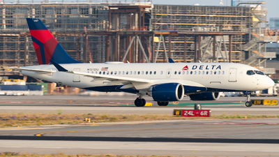 A picture of N137DU - Airbus A220100 - Delta Air Lines - © Luis Bastardo