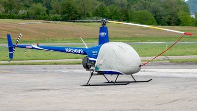N824WS - Robinson R22 Beta II - Private