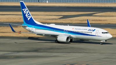 A picture of JA80AN - Boeing 737881 - All Nippon Airways - © tomobile