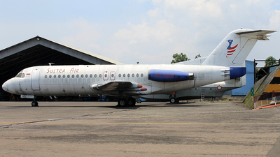 PK-NAM - Fokker F28-4000 Fellowship - Sultra Air