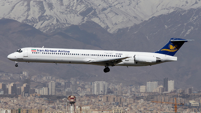 EP-MDD - McDonnell Douglas MD-82 - Iran Air Tours