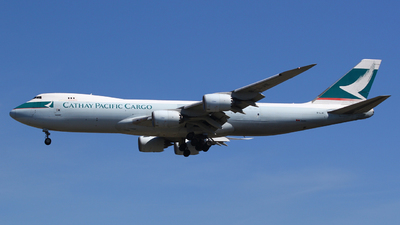 B-LJE - Boeing 747-867F - Cathay Pacific Cargo