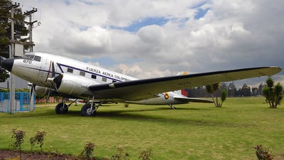 FAC670 - Douglas DC-3 - Colombia - Air Force