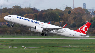 A picture of TCLSG - Airbus A321271NX - Turkish Airlines - © Sebastian Thiel