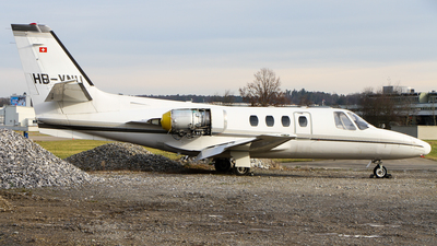 HB-VNU - Cessna 500 Citation - JetClub