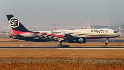 A picture of B2828 - Boeing 75725C(PCF) - SF Airlines - © SH.Geng