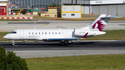 A7-CEE - Bombardier BD-700-1A10 Global Express - Qatar Executive