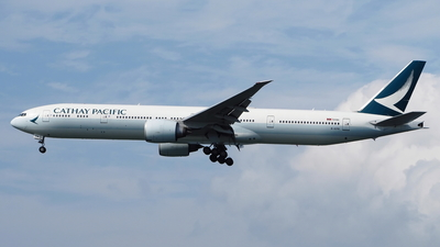 A picture of BKPM - Boeing 777367(ER) - Cathay Pacific - © toeychincha