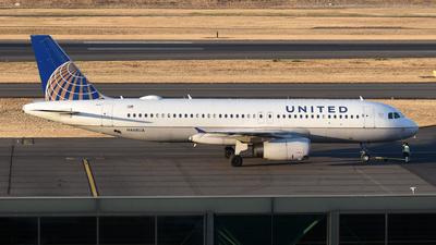 N468UA - Airbus A320-232 - United Airlines