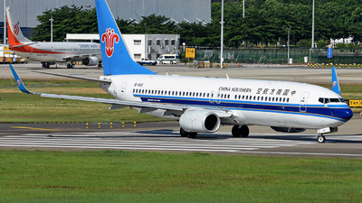 B-1413 - Boeing 737-81B - China Southern Airlines